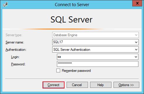 Login SQL Server