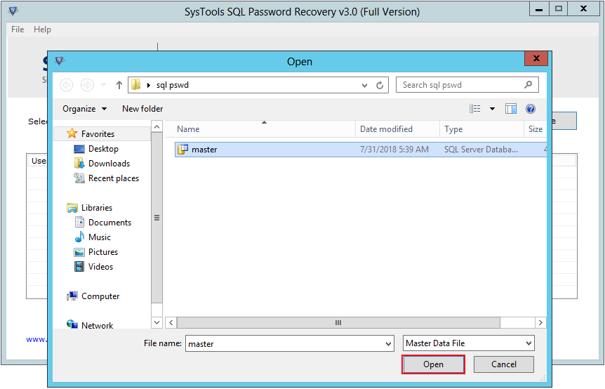 SQL Password Recovery Tool to Reset SQL Server SA Password